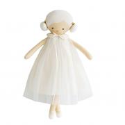 Alimrose – Lulu Doll Ivory 48cm